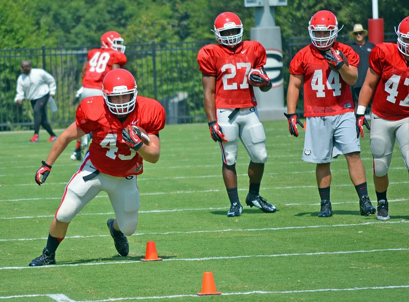 2014 UGA Football Preseason Practice