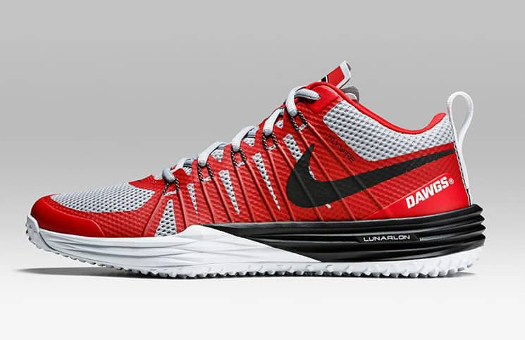 d5ef49a5aa91 Nike UGA Lunar TR1 Week Zero shoes released