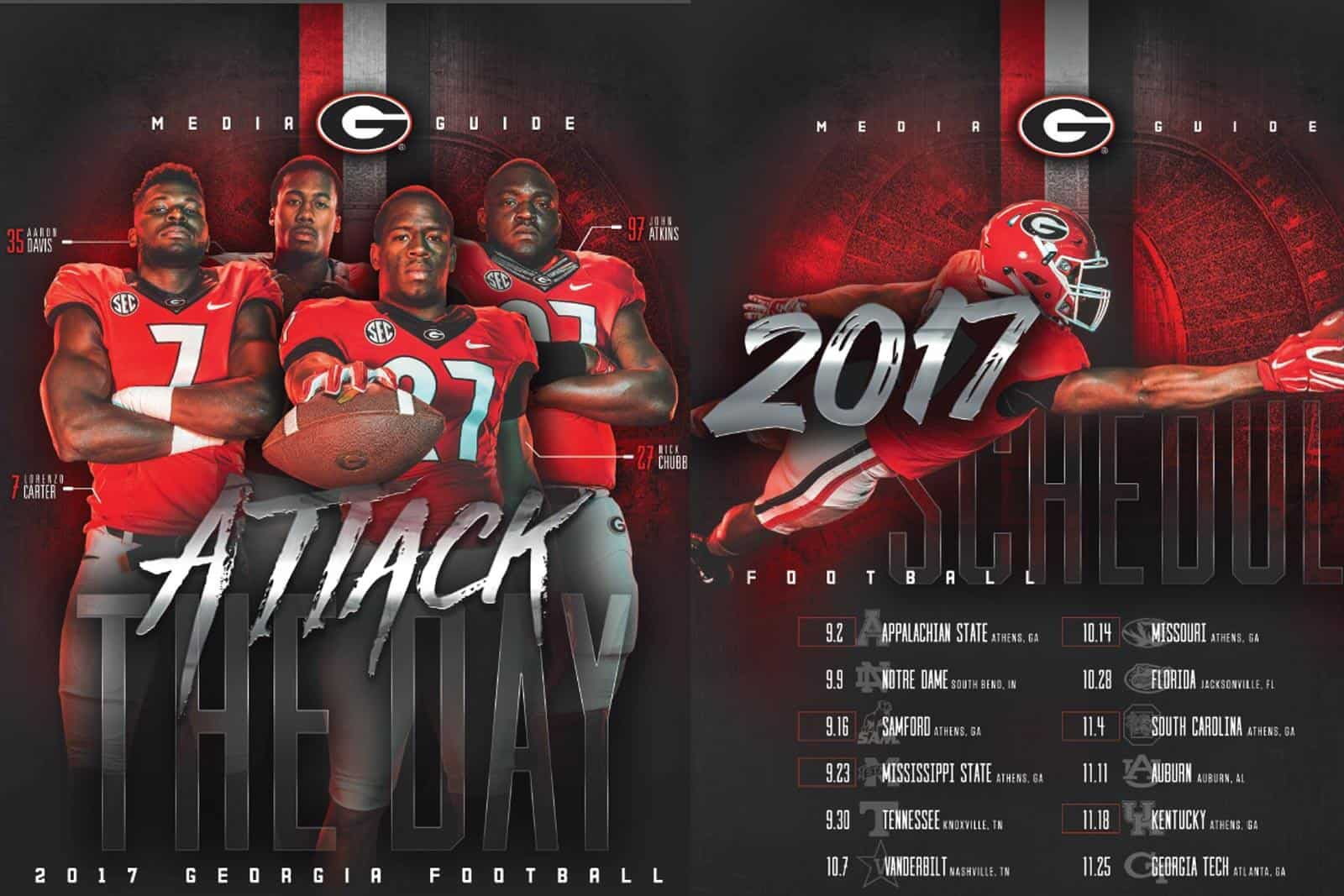2017 UGA Football Media Guide