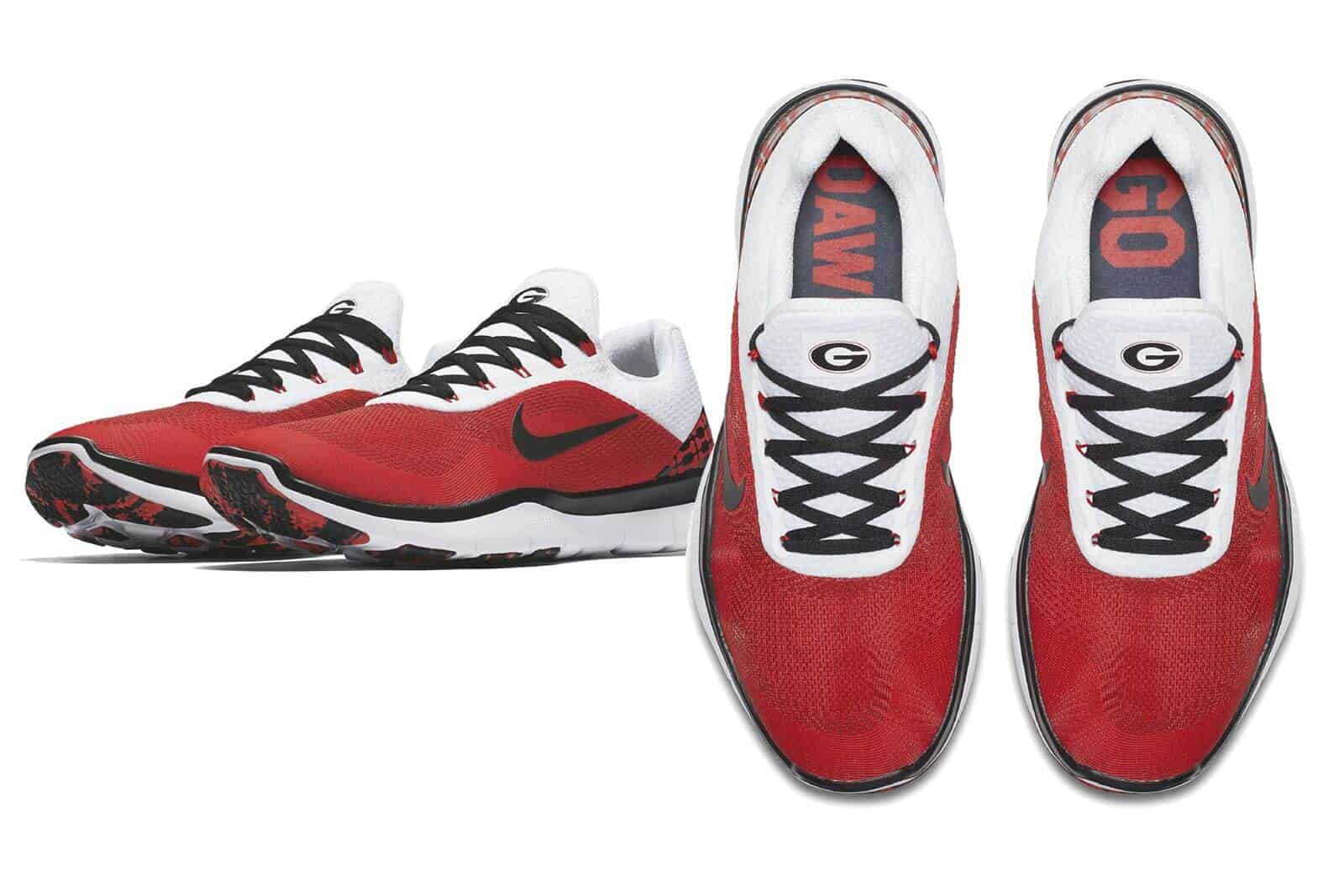 quality design d9729 47e3e 2017 Week Zero Nike UGA Shoes