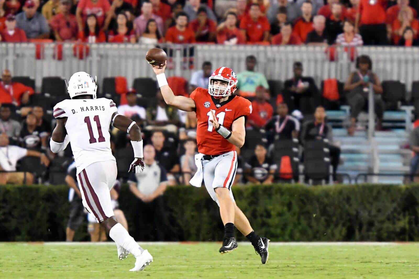 Jacob Eason is 'closer' to playing, Georgia coach Kirby Smart says