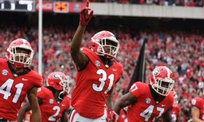 UGA Football: CFP, Nov. 21