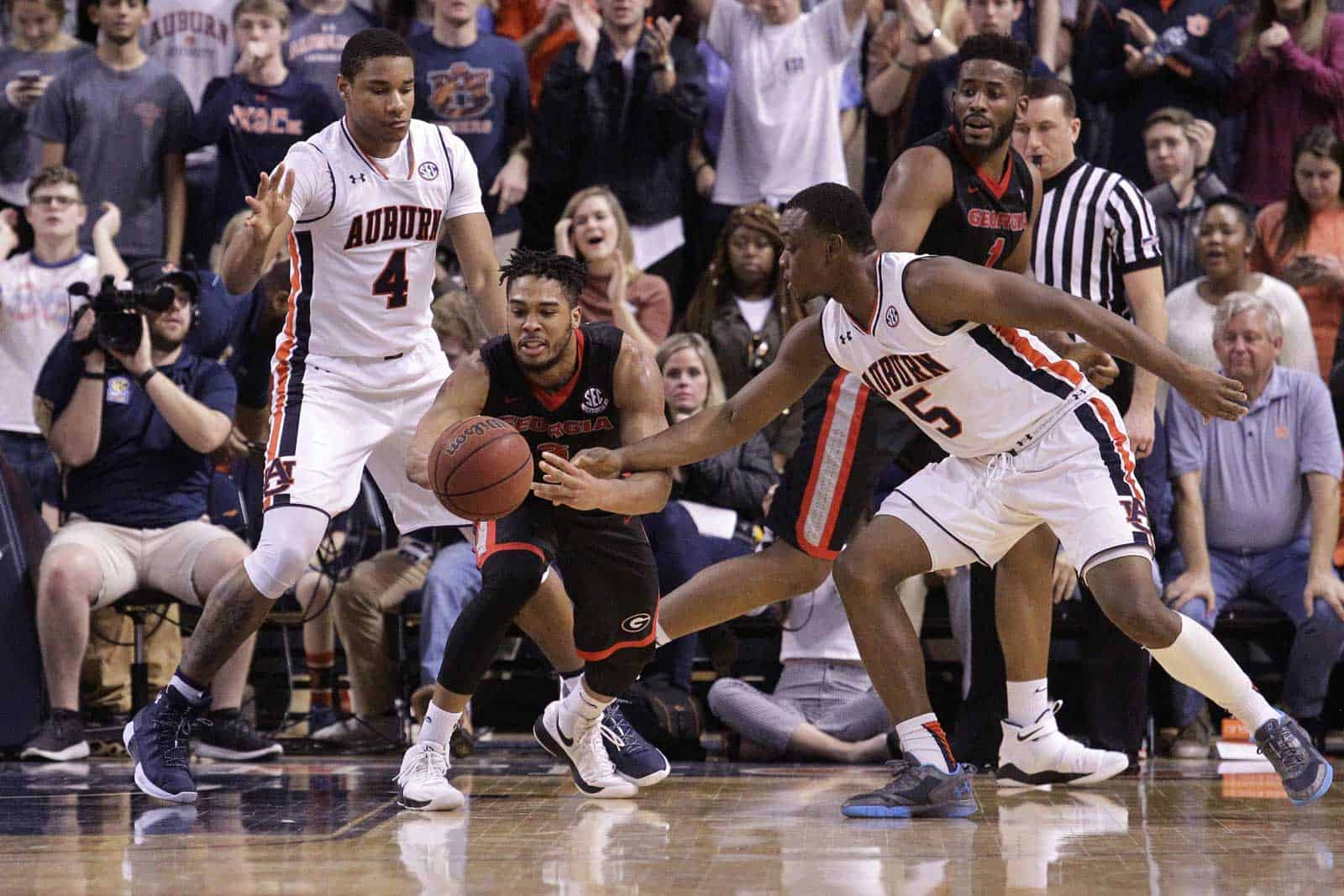 No. 17 Auburn seeks to regain 'edge' vs. Georgia