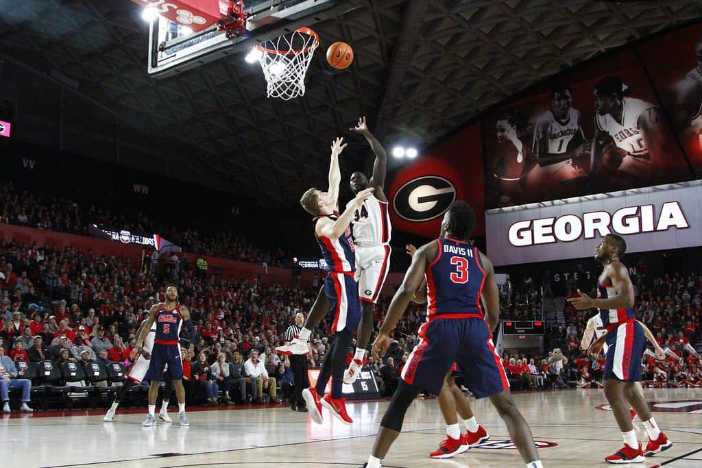 UGA Basketball: Ole Miss