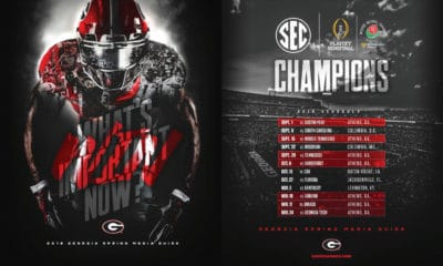 UGA Football Spring Guide 2018