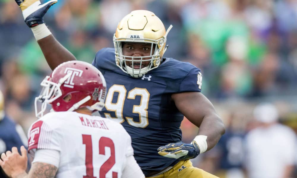 Notre Dame graduate transfer Jay Hayes to play for UGA