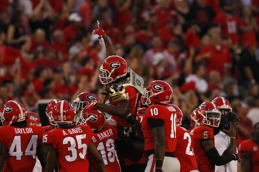 Georgia-South Carolina game on Sept. 8 set for CBS