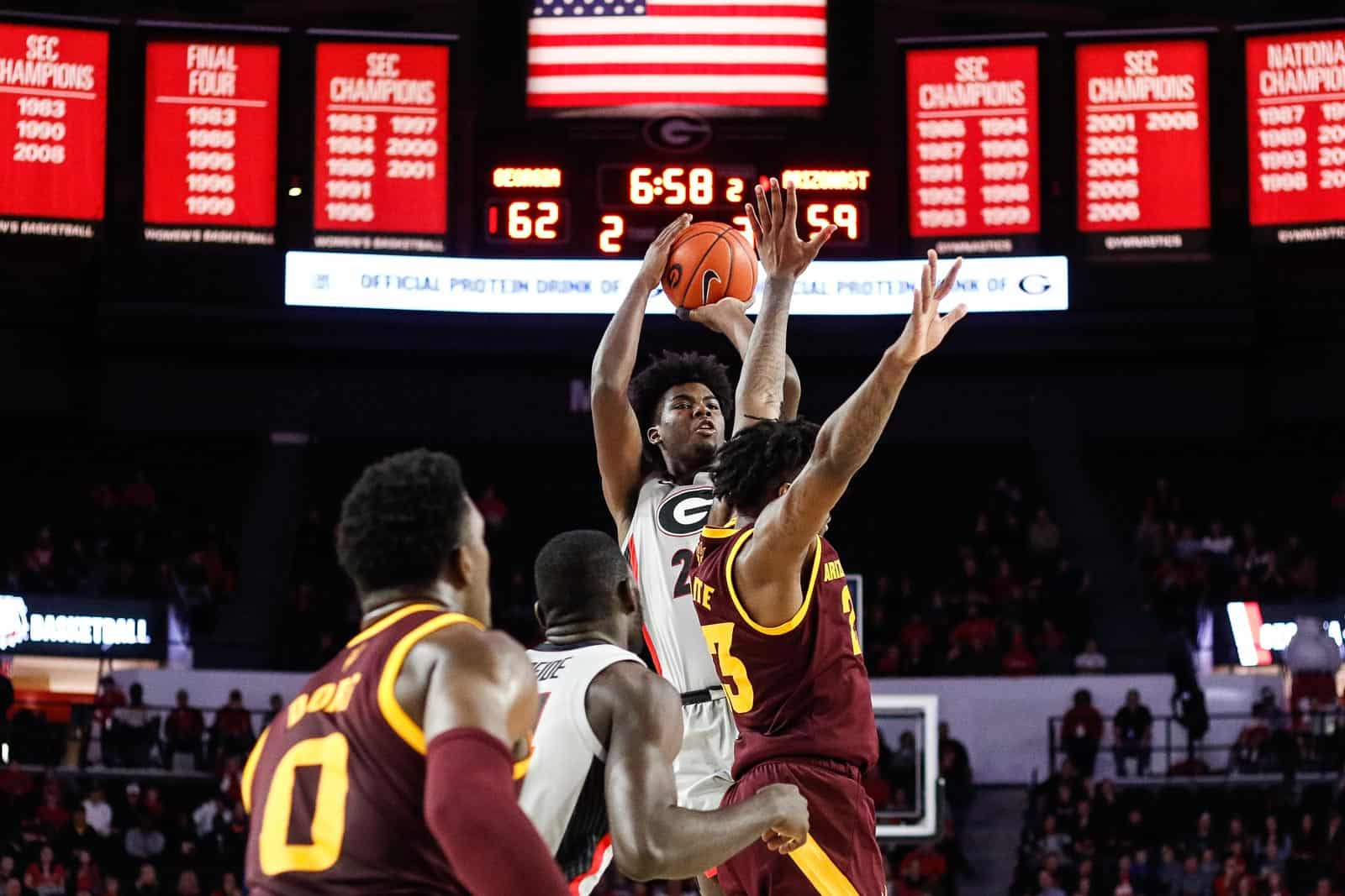 UGA Basketball: Arizona State