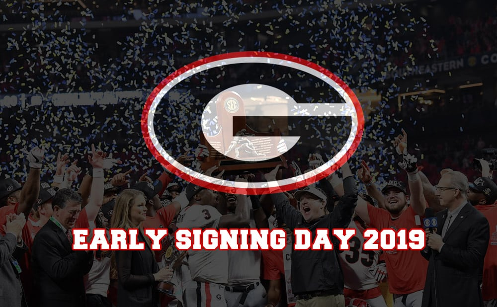 UGA Football Early Signing Day 2019
